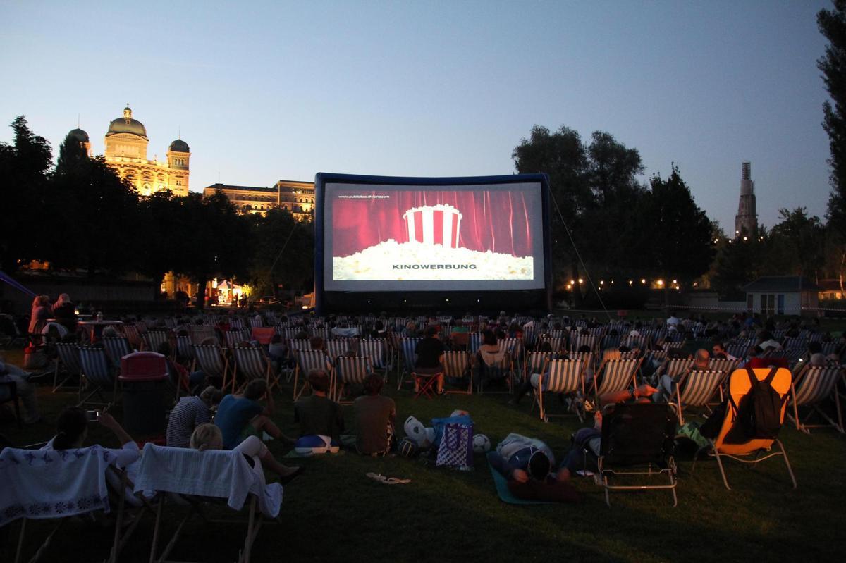 Filme unter freiem Himmel – Wegen Hochwasser: Keine Movies im Marzili