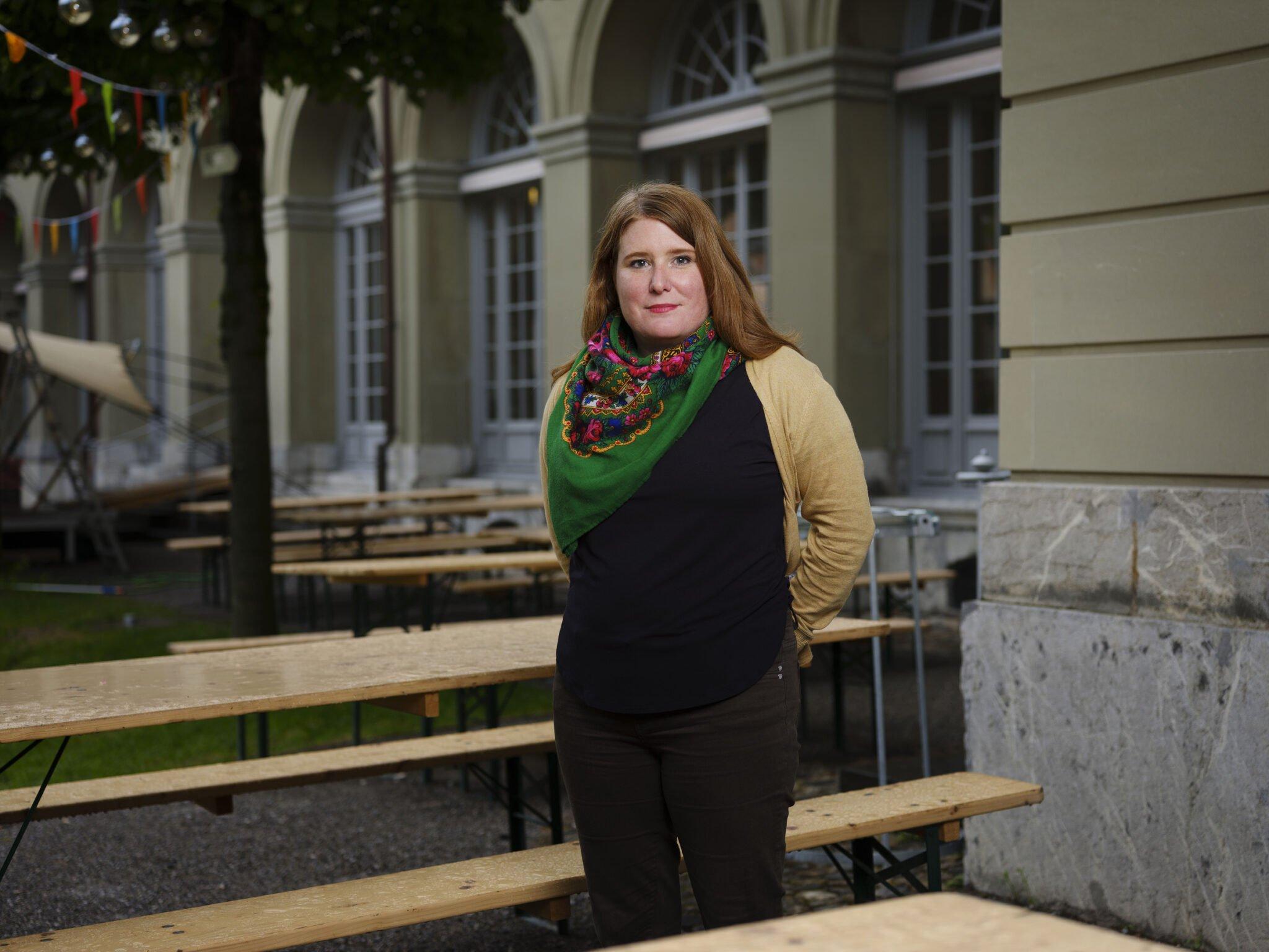 """Fiona Ziegler: """"Im Tschechischen sind ironische Untertöne wichtig."""""""