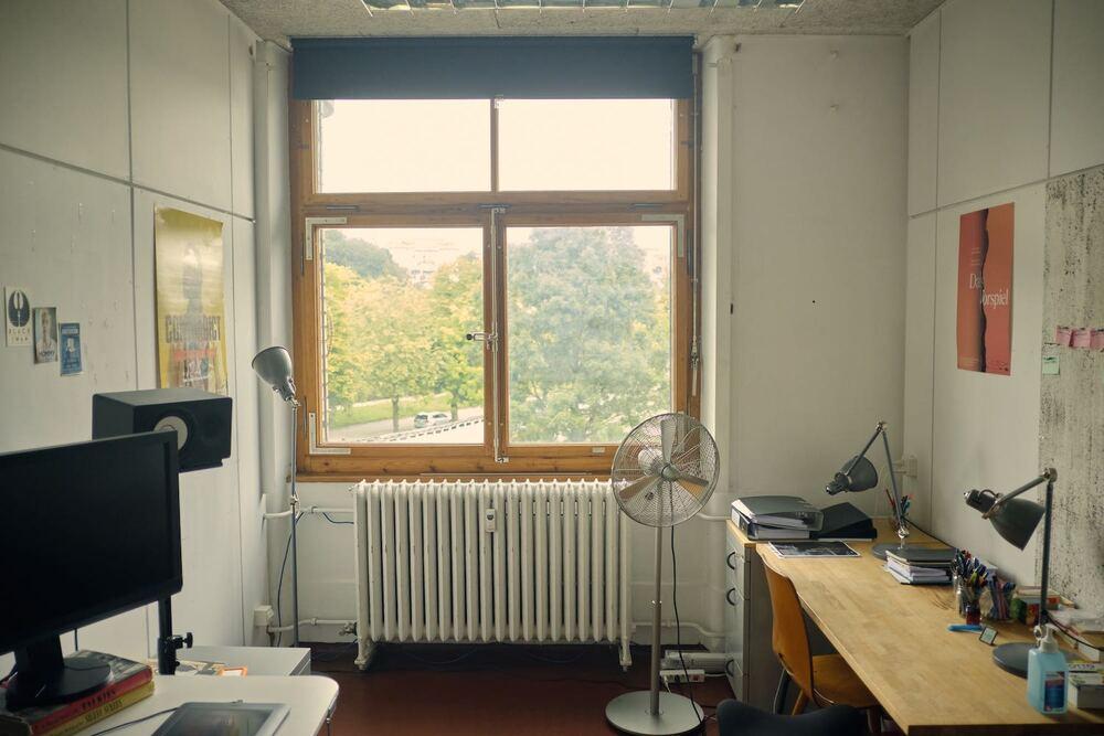 Schöner und ruhiger Atelier-Raum / Einzelbüro im Sandrain