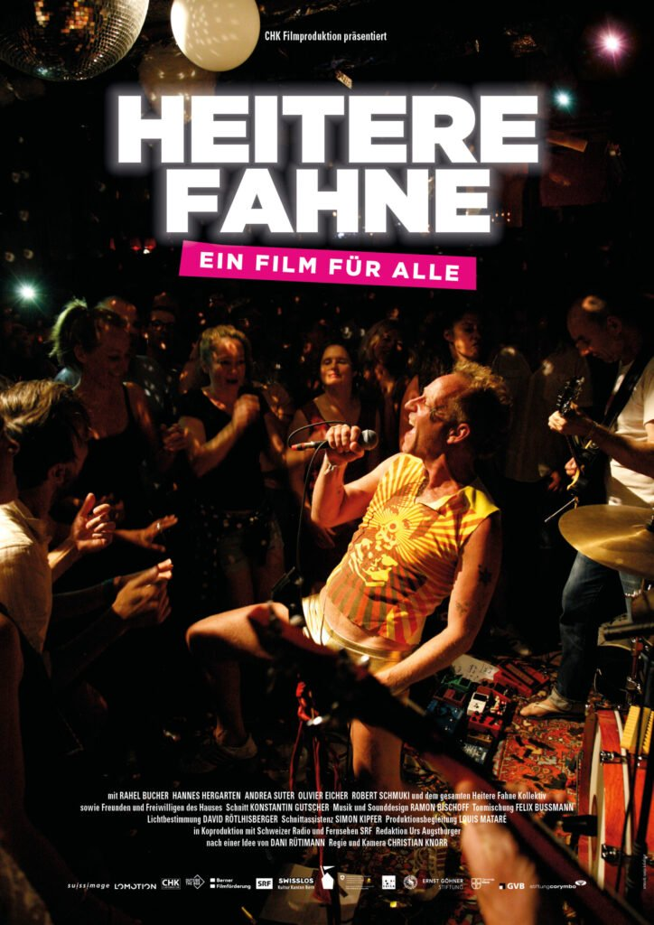 Poster Heitere Fahne